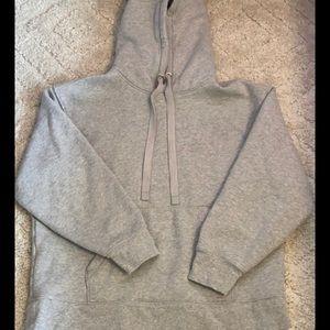 Athleta gray hoodie